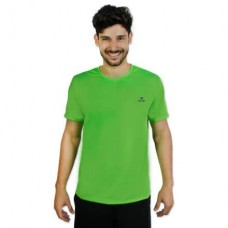 Camiseta Color Dry Workout SS CST-300 - Masculino - G - Verde - Muvin