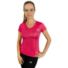 Camiseta Color Dry Workout SS – CST-400 - Feminino - G - Pink - Muvin