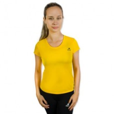 Camiseta Color Dry Workout SS – CST-400 - Feminino - GG - Amarelo - Muvin
