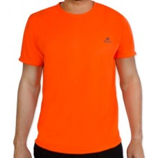 Camiseta Color Dry Workout SS – CST-300 - Masculino - GG - Laranja Fluor - Muvin