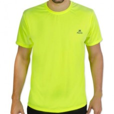 Camiseta Color Dry Workout SS – CST-300 - Masculino - G - Verde Fluor - Muvin