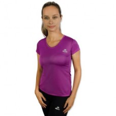Camiseta Color Dry Workout SS – CST-400 - Feminino - GG - Lilás - Muvin