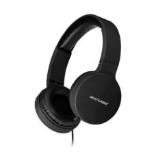 Headphone Dobrável New Fun P2 Multilaser Preto - PH268