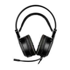 Fone de Ouvido Headset Gamer Thyra RGB 7.1 Com Vibração Preto Warrior - PH290