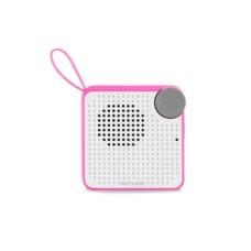 Caixa de Som Mini Bluetooth Speaker 5W Entrada Micro SD e Auxiliar Resistente à Água Rosa Multilaser - SP311