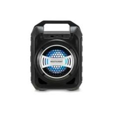 Caixa de Som Bluetooth 30W Entradas USB Auxiliar Micro SD com Rádio FM + Microfone Preta Multilaser - SP313