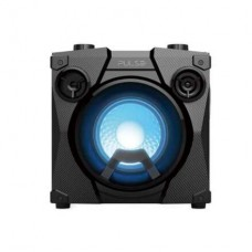 Caixa de Som Party Speak Cube TWS, BT, USB, FM, AUX, Microfone Preto Pulse - SP320