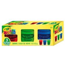 Crayola Massa de Modelar com 3 Cores Sortidas (423g) Indicado para +3 Anos Multikids - BR1008