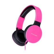 Headphone New Fun Dobrável com Conexão P2 Cabo 1,4m Rosa Fosco Multilaser - PH271