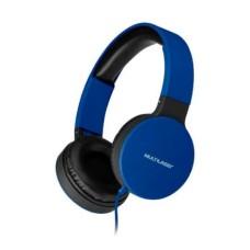 Headphone Dobrável New Fun P2 Multilaser Azul - PH272