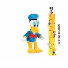 Pelúcia Pato Donald com Som Tam. 22cm Material Fibra/ Poliéster Azul Multikids - BR869