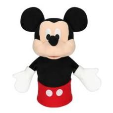 Fantoche de Pelúcia Mickey 28cm Preto/Vermelho Indicado para +4 Anos Multikids - BR934