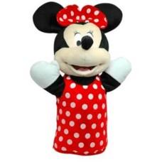 Fantoche de Pelúcia Minnie 28cm Vermelho/Branco Indicado para +4 Anos Multikids - BR935