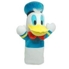 Fantoche de Pelúcia Pato Donald 28cm Azul/Branco Indicado para +4 Anos Multikids - BR936