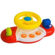 Volante Meu Primeiro Brinquedo Interativo Alimentação por 2 Pilhas AA Indicado para +12 Meses Multikids Baby - BR1025