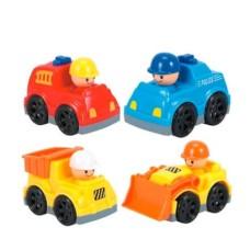 Meu Primeiro Brinquedo Carrinhos Divertidos Sortidos Indicado para +18 Meses Multikids Baby - BR1027