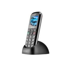 Celular Vita Dual Chip USB e Bluetooth Tela 1,8 Pol. + Base Carregadora Preto Multilaser - P9089