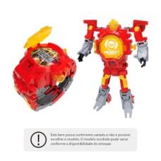 Robot Watch Relógio e Robô 2 em 1 Sortido Multikids - BR498