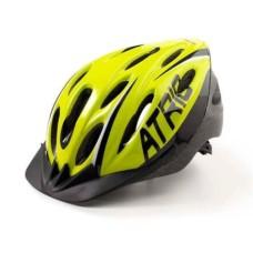 Capacete Atrio para Ciclismo MTB 2.0 com LED Traseiro 19 Entradas de Ventilação Neon/Preto Tam. M - BI168