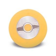 Escova Sônica para Limpeza Facial Bella Mini Recarregável e Resistente à água Amarelo Multilaser - HC186