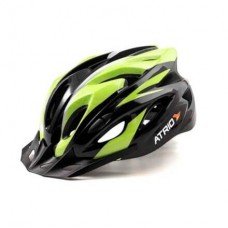 Capacete Atrio para Ciclismo MTB Inmold 2.0 Viseira Removível 19 Entradas de Ventilação Neon Tam. G - BI175