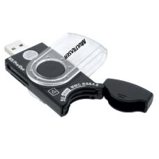 Leitor de Cartão Universal Portátil USB 38 em 1 Multilaser - AC102
