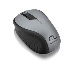 Mouse sem Fio 2.4GHz 1200dpi Preto/Grafite Multilaser - MO213