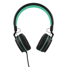 Headphone Pulse On Ear Stereo Preto/Verde - PH159