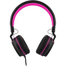 Headphone Pulse On Ear Stereo Preto/Rosa - PH160