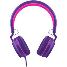 Headphone Pulse On Ear Stereo Rosa/Roxo - PH161