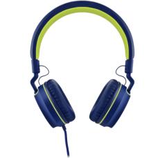 Headphone Pulse On Ear Stereo Azul/Verde - PH162