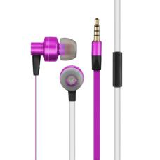Fone de Ouvido Pulse Intra Auricular Rosa/Branco - PH155