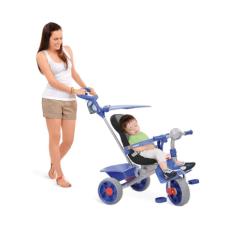 Triciclo Smart Comfort Azul - Bandeirante - 256