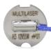 Lâmpada Automotiva H3 - 12V - 55 Watts Comum Multilaser - AU803