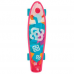 Skate Mini Cruiser Bob Burnquist Es092 Rosa - Multilaser