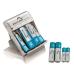 Charger Kit com 8 Pilhas Multilaser - CB093
