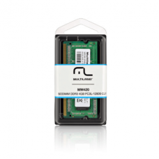 Memória Notebook Multilaser Sodimm DDR3 4GB PC3L-12800 - MM420