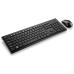 Combo Teclado e Mouse Slim Sem Fio Preto Multilaser - TC212