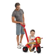 Triciclo Velocipede Passeio & Pedal Homem de Ferro Bandeirantes - 3014