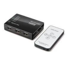 Switch HDMI 5 em 1 com Controle Remoto Multilaser