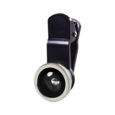 Lente Fisheye Smartphone Multilaser Preto
