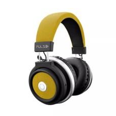 Fone de Ouvido Bluetooth Large Amarelo Pulse