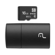 Pen drive 2 em 1 Classe 4 Micro SD 16GB Multilaser - MC162