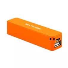 Carregador Multilaser Smartogo Power Bank 2200mah Laranja - CB078L