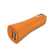 Carregador Multilaser Smartogo Automotivo 12v USB Laranja CB079L