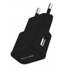Carregador Multilaser p/ Parede/Tomada Smartogo USB Preto - CB104