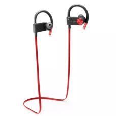 Fone De Ouvido Bluetooth Multilaser Pulse Earhook IN-EAR Sport Metallic Vermelho - PH253