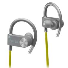 Fone De Ouvido Bluetooth Multilaser Pulse Earhook IN-EAR Sport Metallic Amarelo - PH254