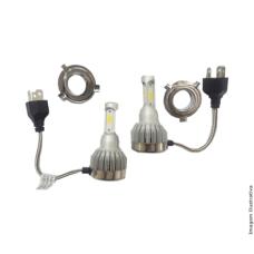 Lampada Super Led modelo H4 3D 6200k 2800 Lumens Multilaser AU845