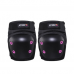 Kit De Proteção Infantil Preto/Rosa – Capacete M / Kit P - Atrio ES184